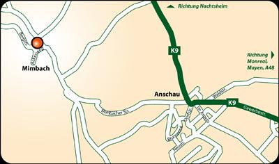 Reiterpension Karduck - Anfahrt von Nah